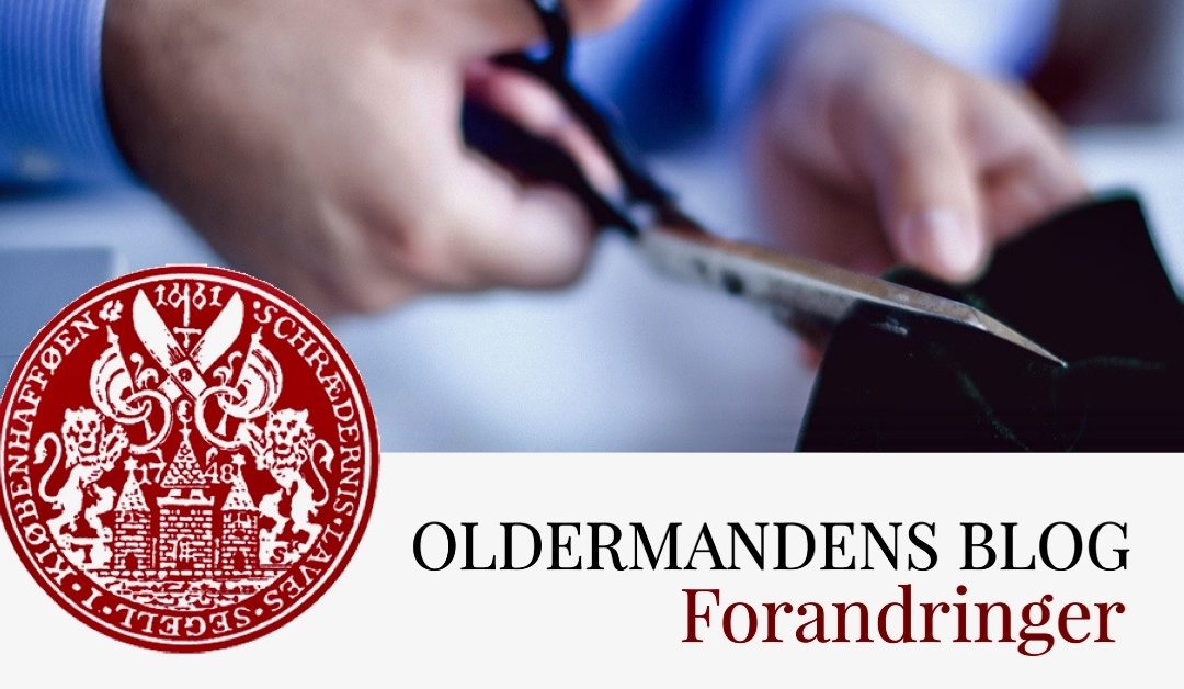 Oldermandens Blog – Forandringer