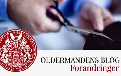 Oldermandens Blog – Forandringer